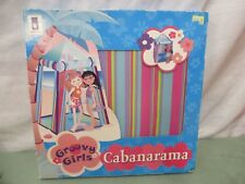 GROOVY GIRLS Manhattan Toy CABANARAMA Pop-Up Beach Tent 2002 Toy Doll size