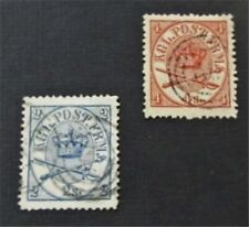 nystamps Denmark Stamp # 11.13 Used $48