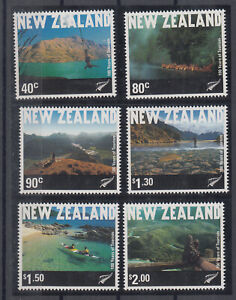 New Zealand: 2001 100 Years of Tourism  set of 6 stamps. Scarce & Cheap