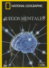 *(SET) National Geographic: Los Juegos Mentales VOL. 1-3 (DVD) Test Your Brain