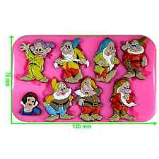 Snow White and the Seven Dwarfs Silicone Mould by Fairie Blessings