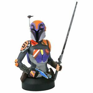 Gentle Giant Star Wars Rebels Sabine Wren 1/6 Scale Bust NEW IN BOX!!