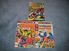 Marvel Team-Up 45,53,61 Comics Near Mint- Fine