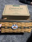 LONGABERGER COLLECTORS CLUB  WELCOME HOME BASKET COMBO-NEW IN BOX