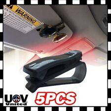 5pcs Auto Car Interior Sun Visor Clip Holder For Reading Glasses Sunglasses U1
