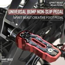 Spirit Beast Motorcycle Foot Rests Rear Pedal for Honda Benelli Yamaha Kawasaki