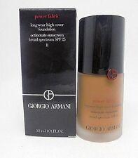 Giorgio Armani Power Fabric Long Wear High Cover Foundation ~ 11 ~ 1. OZ