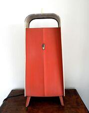 VINTAGE metà del secolo Creda Riscaldatore Elettrico Fuoco industrial chic elegante di lavoro