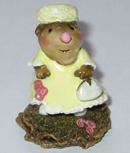 "WEE FOREST FOLK - ""JACKIE O. MOLE"" (KRAFT BOX) - #MO-05 - 70% OFF $49"