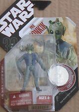 Star Wars Hasbro 30th Anniversary #54 PAX BONKIK Greedo Action Figure MOSC