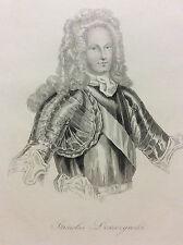 Stanislas Leszczynski Leszczyński Pologne Roi de Pologne et duc de Lorraine