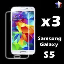 x3 Film de protection écran Samsung Galaxy S5 i9600 / G900 Haute Qualité
