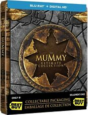The Mummy: Ultimate Collection - Limited Edition Steelbook [Blu-ray] New!!