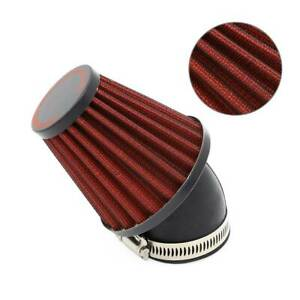 Universal MotorBike Racer 48mm Inlet Cold Air Intake Tapered Air Filter Cleaner
