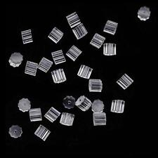 100 Rubber Earring Safety Back Stoppers Post CA76