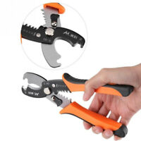 Professional Electrician Wire Cable Cutter Stripper Pliers Hand Tool US