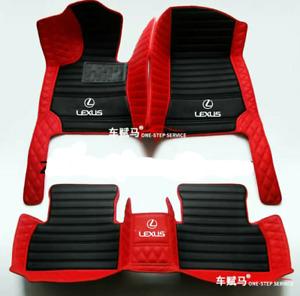 For Lexus IS200t, IS250, IS300, IS350 2000-2020 waterproof car floor mat