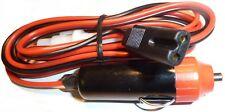 CB Radio Power Lead 2 PIN YORK ROTEL HARRIER Fitted Cigar Lighter Plug