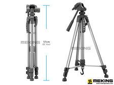 55inch Portable Professional Aluminium Tripod Compact Travel For Camera & Bag