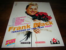 4AD - FRANK BLACK - PUBLICITE / ADVERT FRENCH TOUR!!!!!