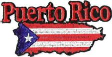 PUERTO RICO - FLAG - IRON ON PATCH