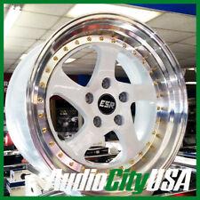 ESR SR02 17x9.5 5-114 ET+30 White face fit Civic Accord CR-V S2000 Hyundai
