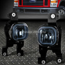 FOR 08-10 FORD F250 F350 F450 F550 SUPER DUTY SMOKED LENS BUMPER FOG LIGHT LAMPS