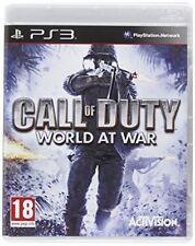 Call of Duty World at War PlayStation 3 Ps3 Game Official PAL UK