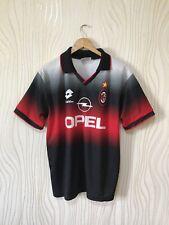 AC MILAN 1995 1996 TRAINING FOOTBALL SHIRT SOCCER JERSEY LOTTO VINTAGE