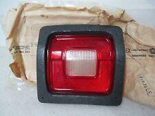 """Mopar """"NOS"""" 1973-76 Dodge Dart Sport LH Rear Back Up Light Lens Cracked 3798201C"""