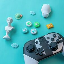 For Switch PRO/PS4 Cute Animal Crossing Silicone Thumb Grip Cover Joystick Caps