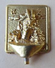 Fève en métal doré - Le Zodiaque - 1995 - Le Capricorne