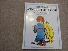CHRISTOPHER ROBIN STORIES OF WINNIE THE POOH  By A A MILNE HARDBACK CHILDRENS