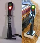 HO Signals Light Kit: Operational with Green/Red LEDs,switch & 9V Battery Pack
