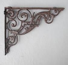 Coin D'étagère Fixation Pour Étagère Angle Fonte Console Mur Ancien Art Nouveau
