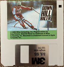New listing Rare! Downhill Racer - 1986 Skiing Simulator Game-Collectible-Miles Computing In