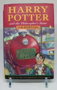 Harry Potter and the Philosophers Stone - 1st Edition 1st Print - TS