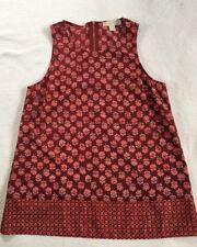 Women's Michael Kors Blouse Sleeveless Shirt Size Medium NWOT