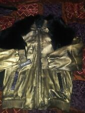 Mens Custom Leather Jacket Size 3xl Must See(Read Description)