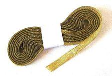 Ruban lurex doré x10m. Décoration de mariage