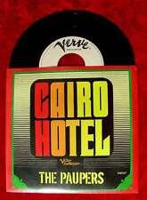 Single Paupers: Cairo Hotel (Verve 518 007) D 1968 Promo