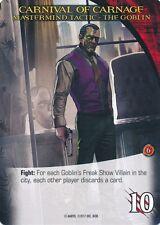 GOBLIN Upper Deck Marvel Legendary NOIR MASTERMIND TACTIC CARNIVAL OF CARNAGE
