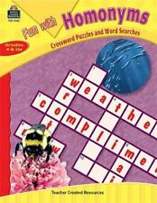 Fun with Homonyms - Crossword Puzzles and Word Searches by Teacher Created...