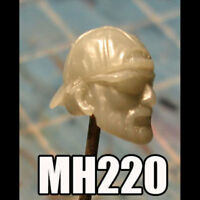 "MH220 Custom Cast Male head use w/ 3.75"" Star Wars Marvel GI Joe figure"