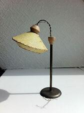 alte Puppenhaus Puppenstube Lampe Tütenlampe Stehlampe DDR 50er 60er Jahre