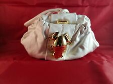MARC JACOB leather Rana frog pouch clutch Made in Italy