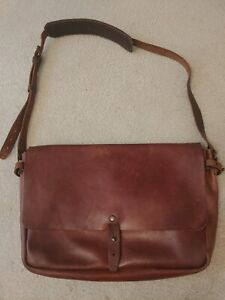 Whipping Post Leather Messenger Bag