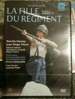 LA FIĻLE DU REGIMENT Natalie Dessay NEW Sealed DVD The Royal Opera RARE