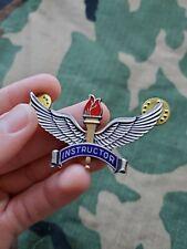Vietnam war Us Air Force Flight Instructor Pilot Badge Pin Wings