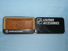 ARIZONA / PHOENIX COYOTES    Leather Checkbook   NIB   brown +